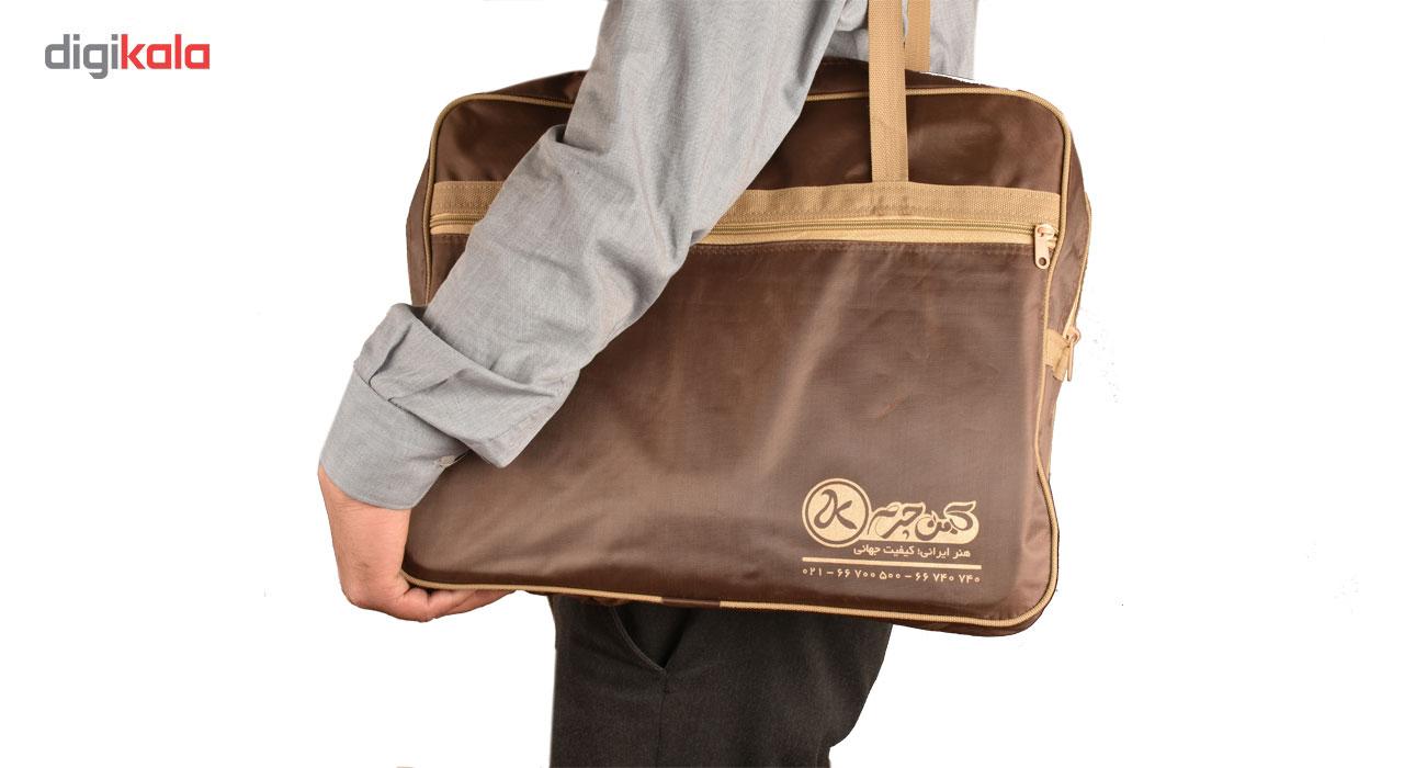 کیف اداری مردانه کهن چرم مدل LZ17-15 main 1 2