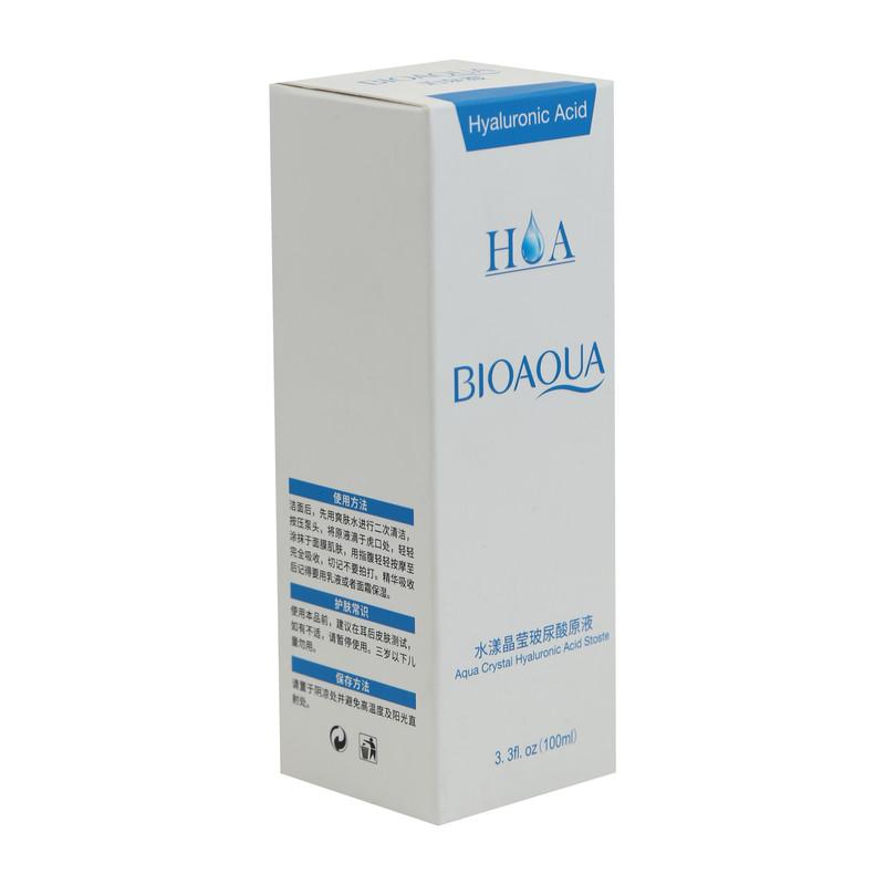 سرم پوست  بایو آکوا مدل هیارولونیک اسید حجم 100 میلی لیتر