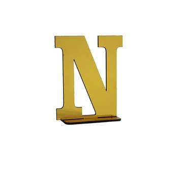 استند رومیزی تزیینی طرح حرف N