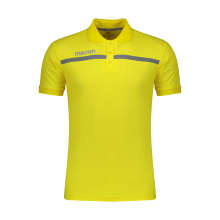 پولوشرت ورزشی مردانه مکرون مدل جمیرا رنگ زرد
