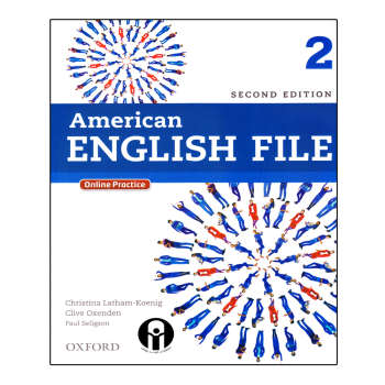کتاب American English File 2 اثر جمعی از نویسندگان انتشارات الوندپویان
