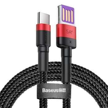 کابل تبدیل USB به USB-C باسئوس مدل CATKLF-PV3 طول 1 متر