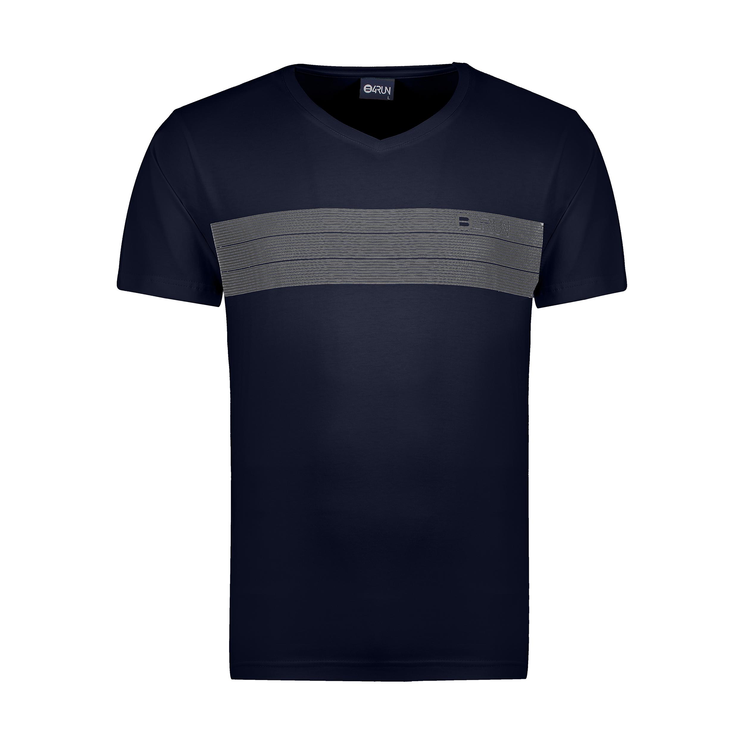 تی شرت ورزشی مردانه بی فور ران مدل 210311-59