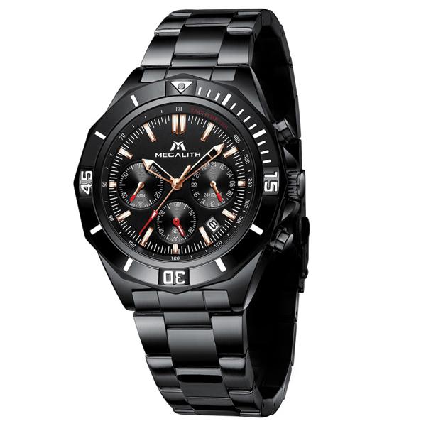 قیمت و خرید                      ساعت مچی عقربه ای مردانه مگالیت مدل 8206-BL