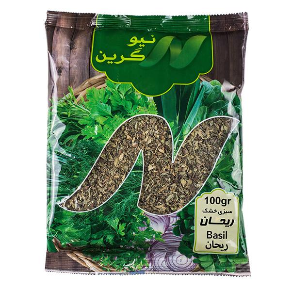 سبزی ریحان خشک نیوگرین - 100 گرم