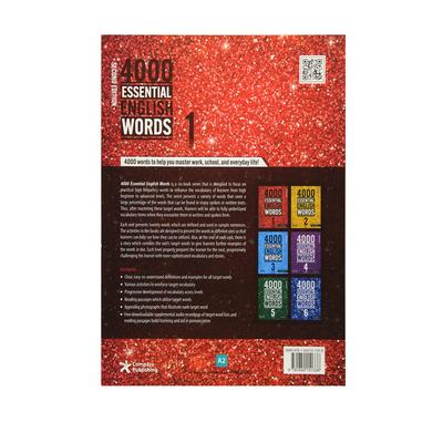 کتاب 4000Essential English Words اثر Paul Nation انتشارات الوندپویان جلد 1 تا 3