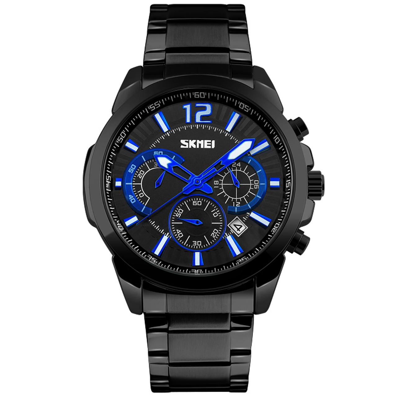 ساعت مچی عقربهای مردانه اسکمی مدل 9108M-NP              خرید (⭐️⭐️⭐️)