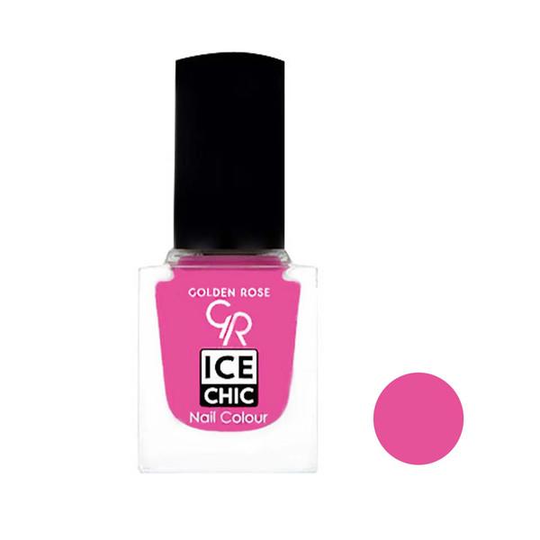لاک ناخن گلدن رز مدل Ice chic شماره 32