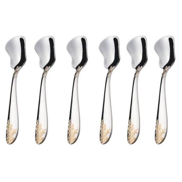 قاشق بستنی خوری ناب استیل مدل امپریال بسته 6 عددی