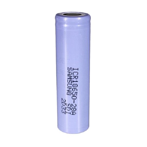 باتری لیتیوم یون قابل شارژ سامسونگ مدل 28A-18650 ظرفیت 3000 میلی آمپر ساعت