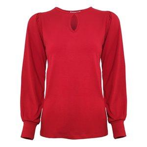 بلوز زنانه افراتین مدل کد 7524 رنگ قرمز