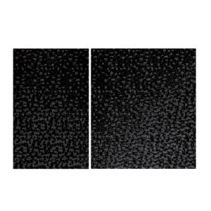 برچسب ماهوت مدل Black Silicon Texture مناسب برای کنسول بازی PS2