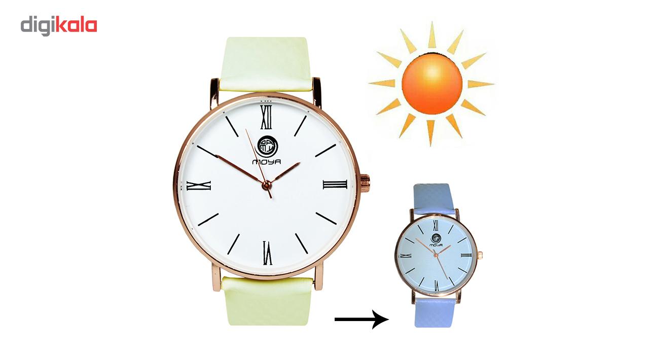 ساعت با رنگ متغیر در نور آفتاب مدل 001 و زنانه
