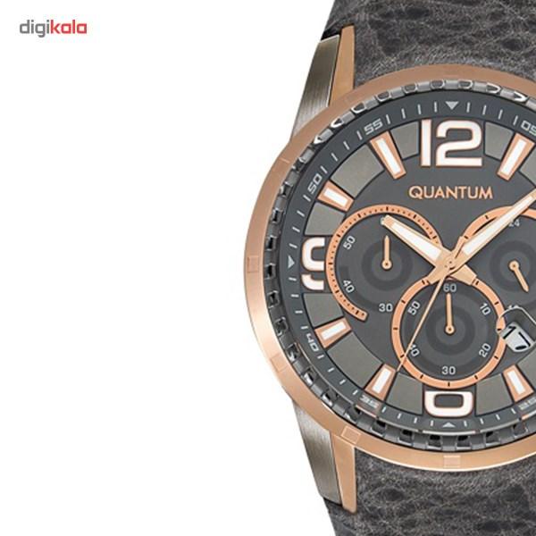 ساعت مچی عقربه ای مردانه کوانتوم مدل EXG417.466