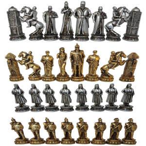 ست مهره شطرنج مدل E06