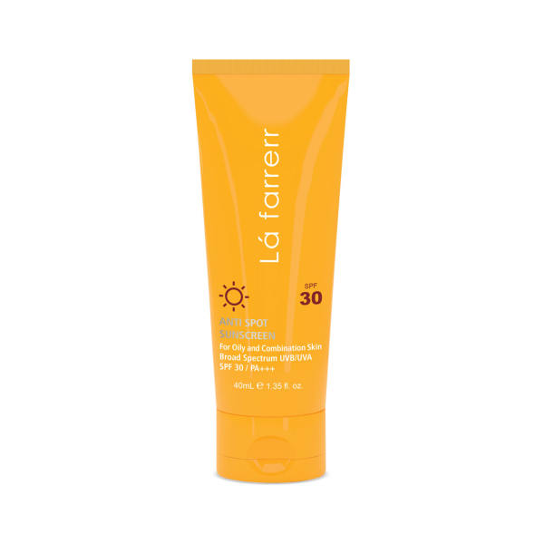 کرم ضد آفتاب و ضد لک لافارر مدل Oily and Acne-Prone SPF30 حجم 40 میلی لیتر