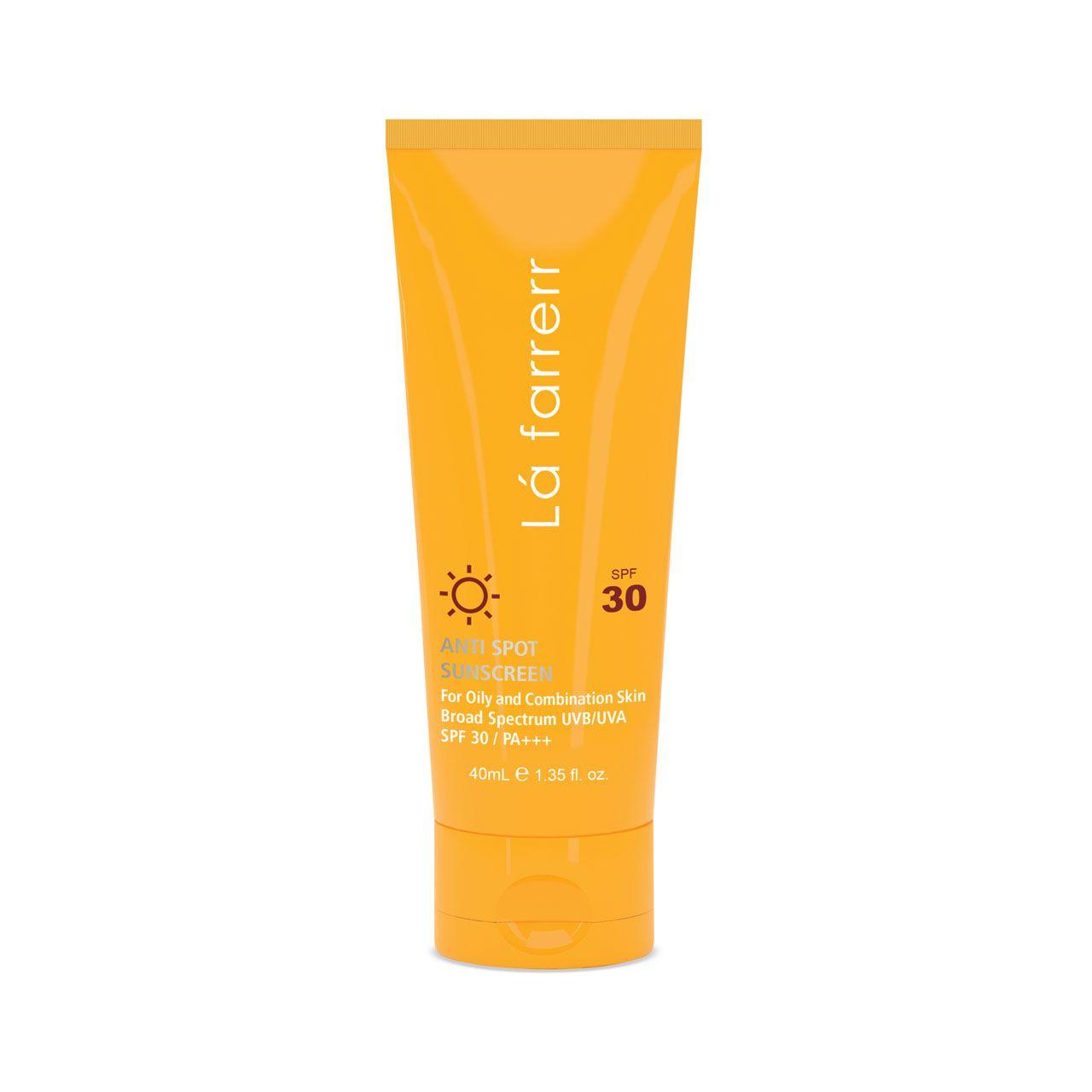 کرم ضد آفتاب و ضد لک لافارر مدل Oily and Acne-Prone SPF30 حجم 40 میلی لیتر -  - 2