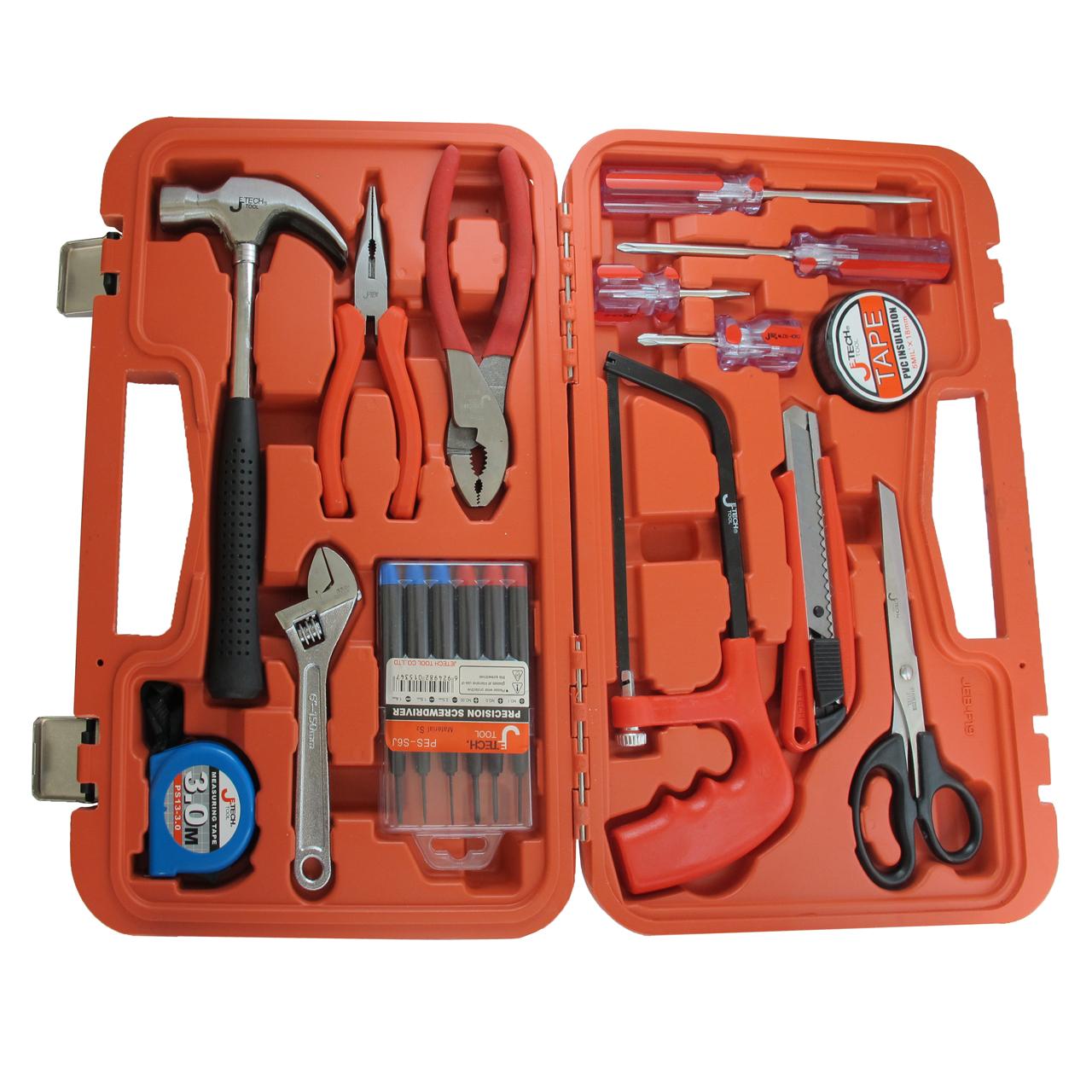 مجموعه 14 عددی ابزار با جعبه ابزار صامو پرشین مدل G 348