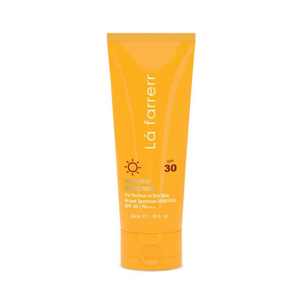 کرم ضد آفتاب و ضد لک لافارر مدل Normal To Dry SPF30 حجم 40 میلی لیتر