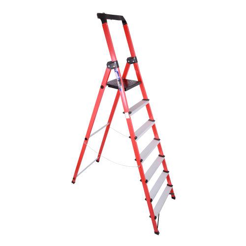 نردبان 6 پله آلوم راد مدل زرین