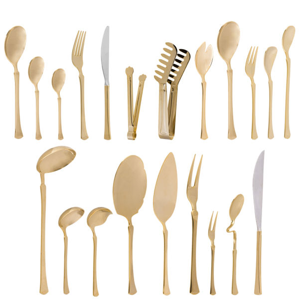 سرویس قاشق و چنگال 113 پارچه سولایتر مدل italy198 | Solitair Italy198 Cutlery Set 113Pcs