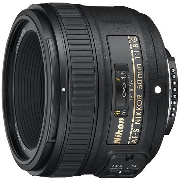 لنز نیکون 50mm f/1.8G AF-S
