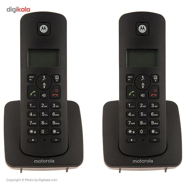 قیمت                      تلفن بی سیم موتورولا مدل C4201H Combo