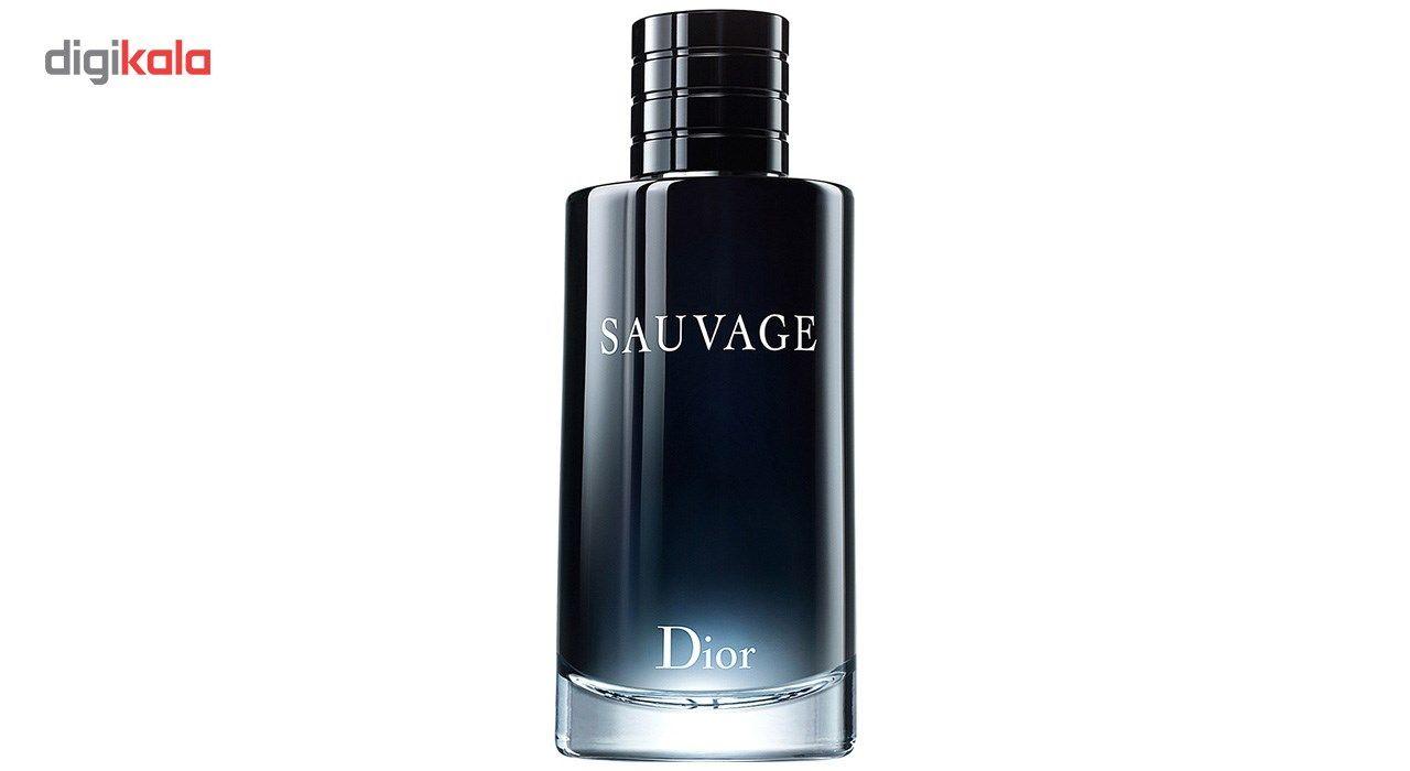 ادو تویلت مردانه دیور مدل Sauvage حجم 200 میلی لیتر main 1 1