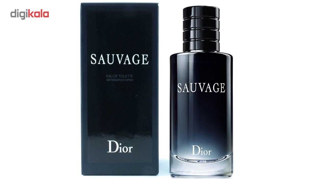 ادو تویلت مردانه دیور مدل Sauvage حجم 200 میلی لیتر main 1 3