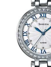 ساعت مچی عقربه ای زنانه کاسیو مدل SHE-4034D-7AUDR -  - 2