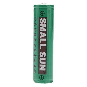 باتری قلمی قابل شارژ اسمال سان مدل 3.7V 2400mAh