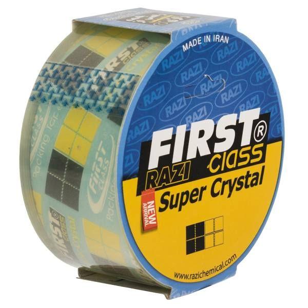 نوار چسب رازی پهنای 4.8 سانتی متر - بسته 6 عددی   razi crystal tape 4.8cm- 6pcs