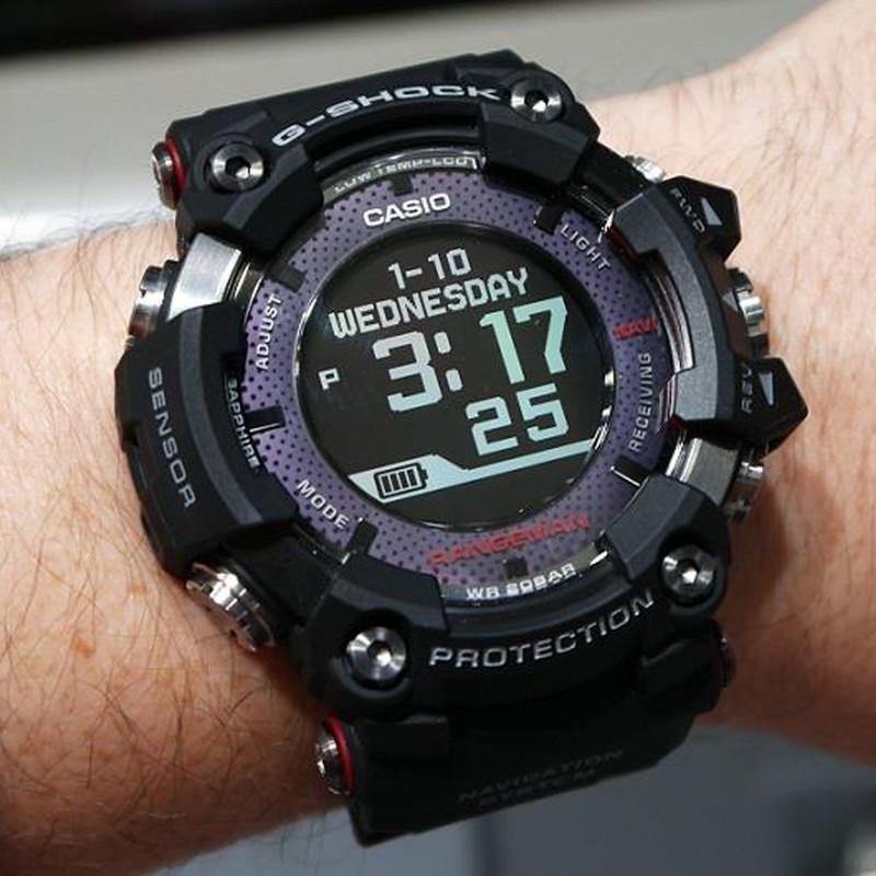 ساعت مچی دیجیتال مردانه کاسیو مدل GPR-B1000-1BDR