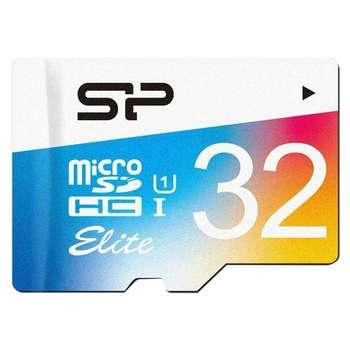 کارت حافظه microSDHC سیلیکون پاور مدل Elite کلاس 10 استاندارد UHC-I U1 سرعت 100MBps ظرفیت 32 گیگابایت