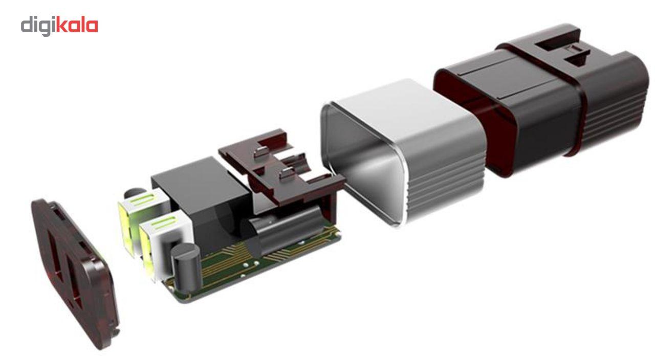 شارژر دیواری الدینیو مدل A2206 همراه با کابل میکرو USB main 1 4
