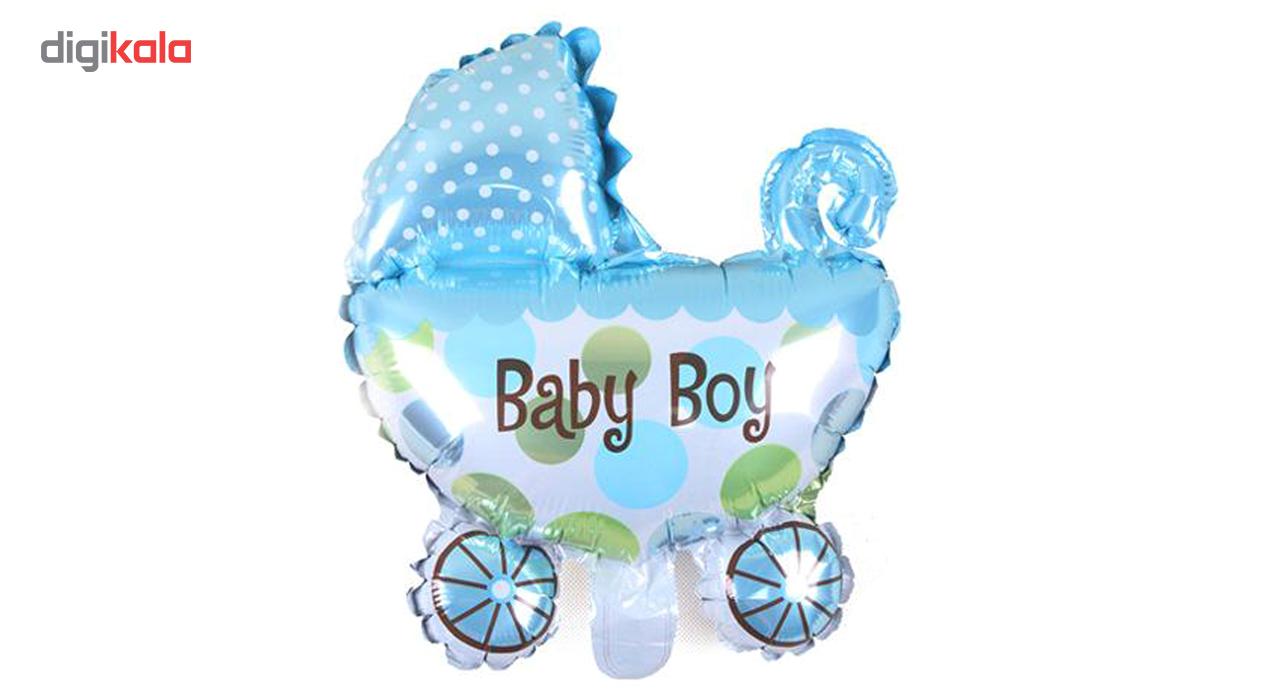 بادکنک فویلی بانیبو مدل Baby Boy سایز 150