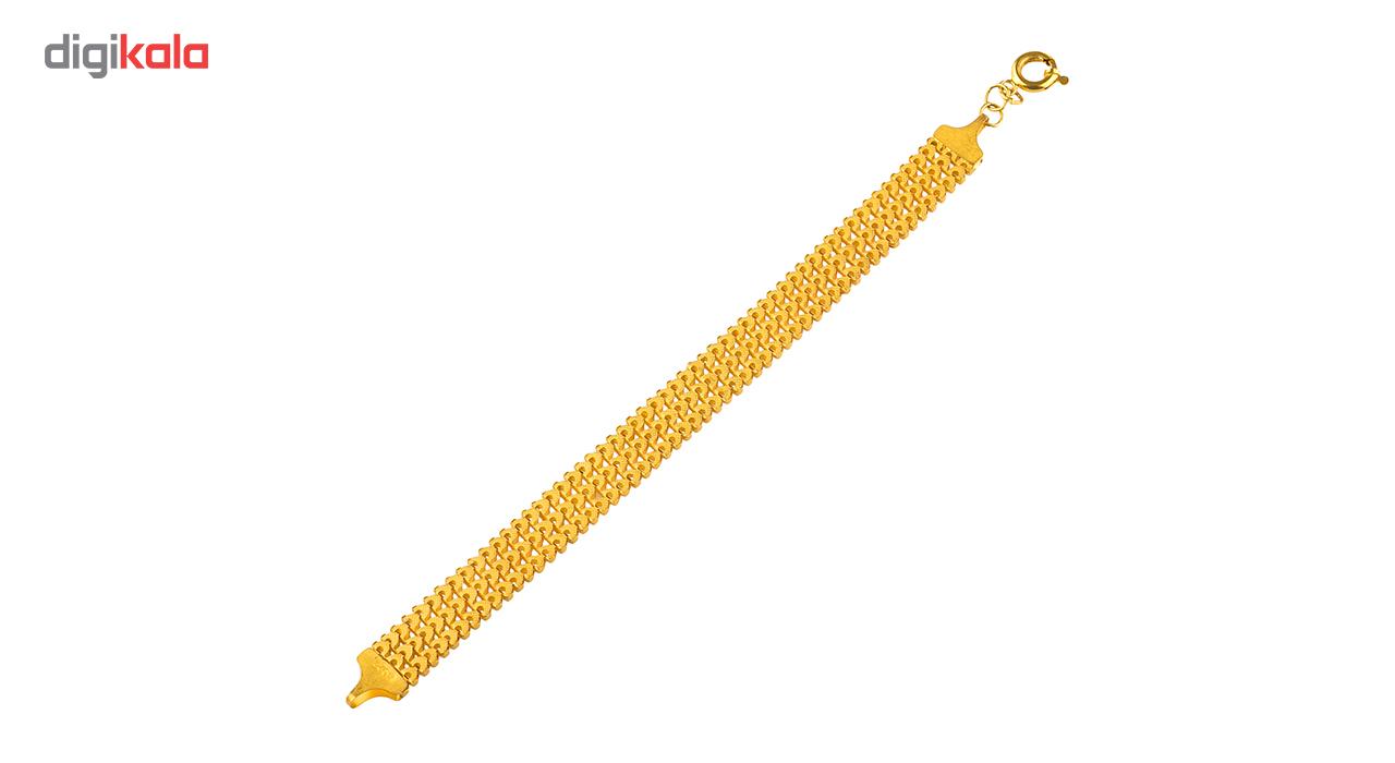 دستبند طلا 18 عیار  گالری طلاچی مدل سورنتو