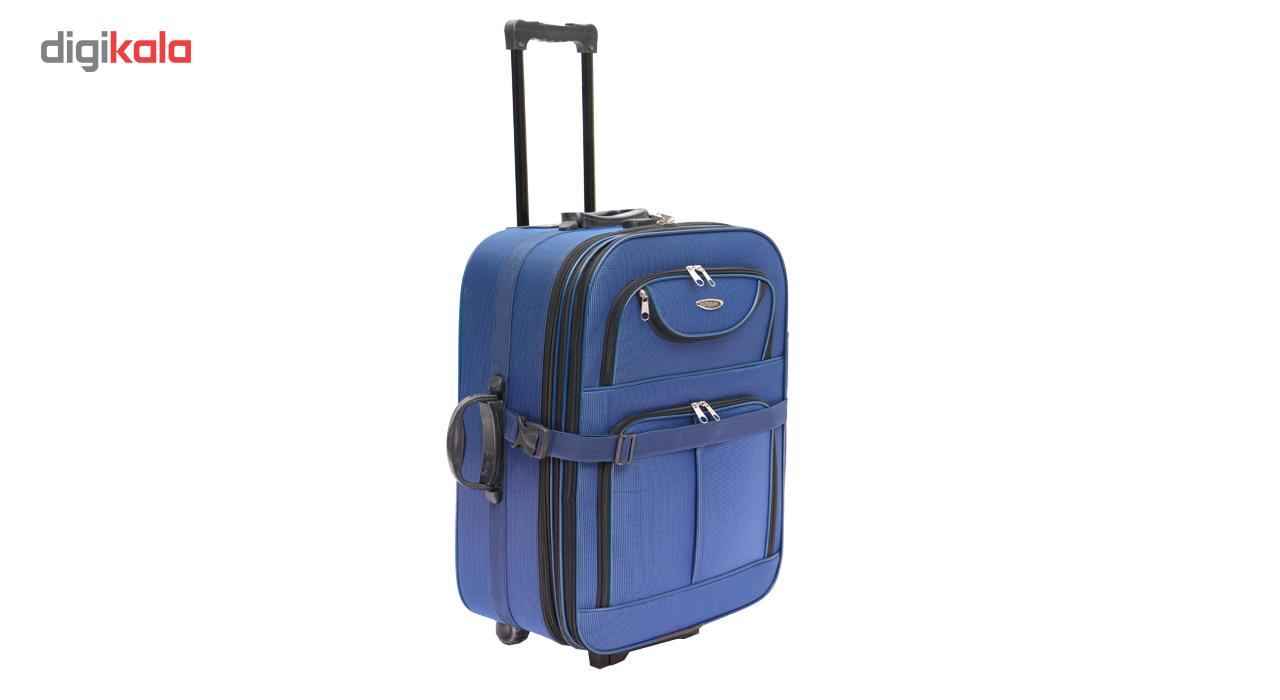 مجموعه دو عددی چمدان لودان مدل AA