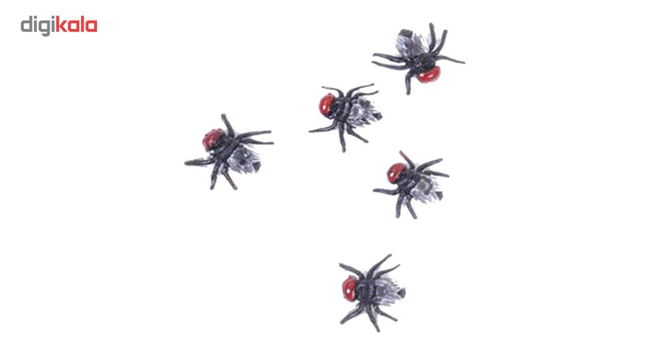 ابزار شوخی مدل بسته حشرات مصنوعی مگس main 1 1