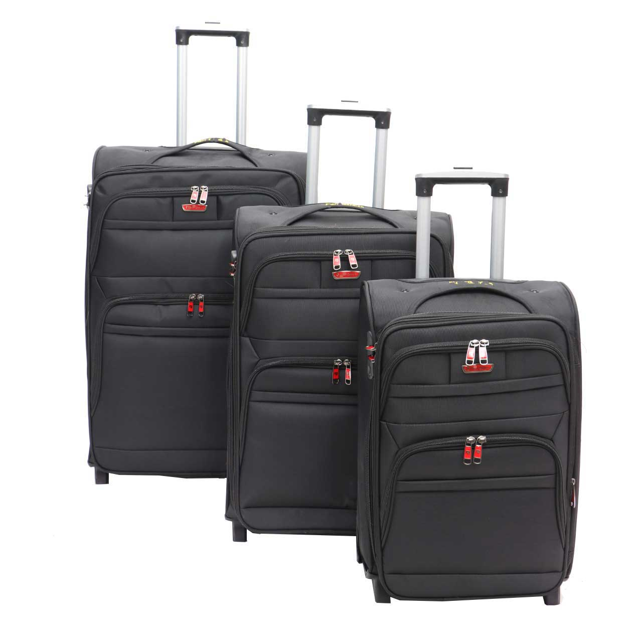 مجموعه سه عددی چمدان لودان مدل 3P