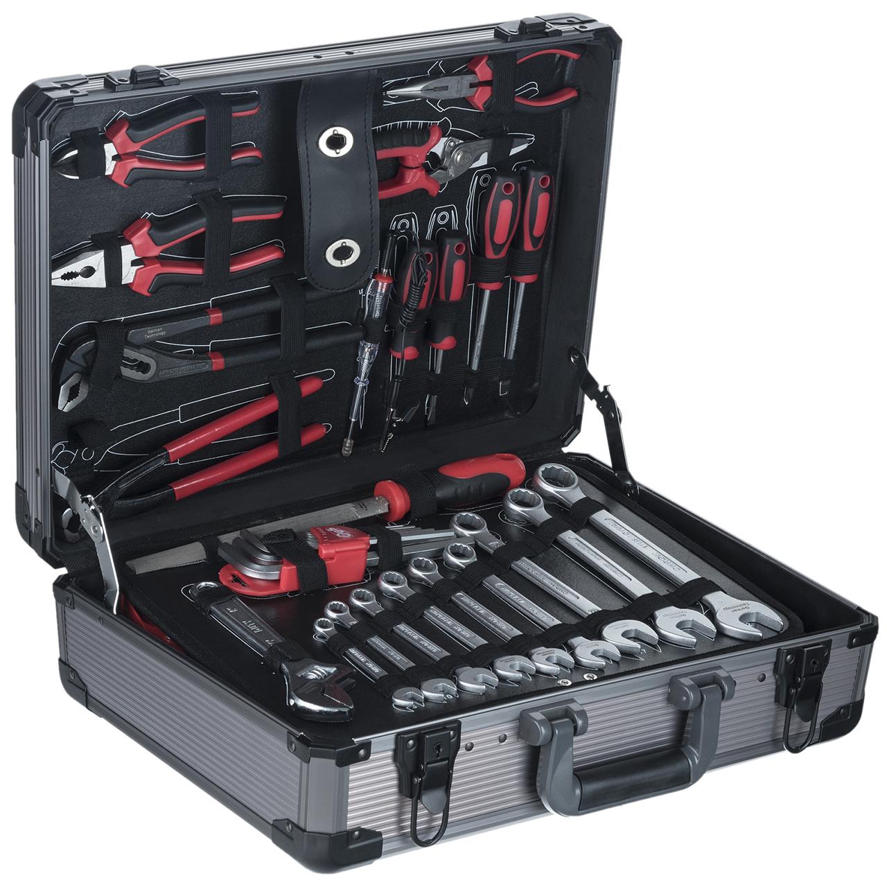 مجموعه 127 عددی ابزار جی تی تی مدل C127MAA