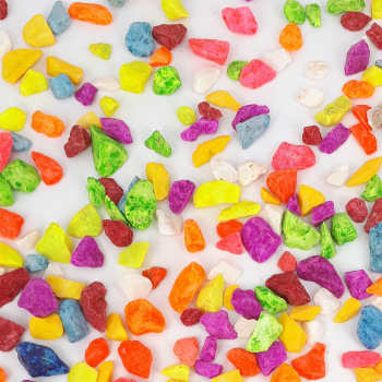 مجموعه ی 3 بسته ای سنگ رنگی(سایز 4) رایمون مدل Colorful