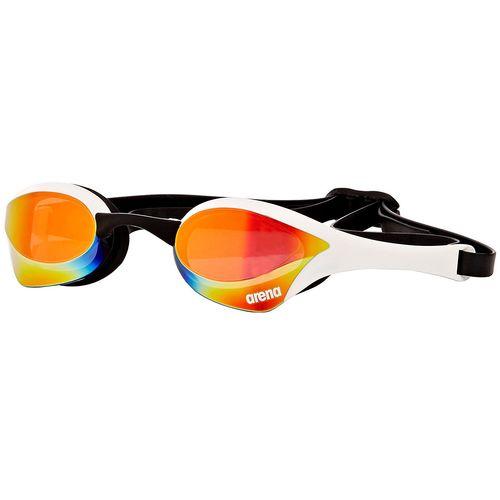عینک شنا آرنا سری Racing مدل Cobra Ultra Mirror سفید