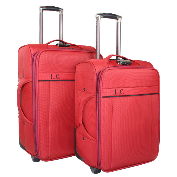 مجموعه دو عددی چمدان ال سی مدل 7-2-1004