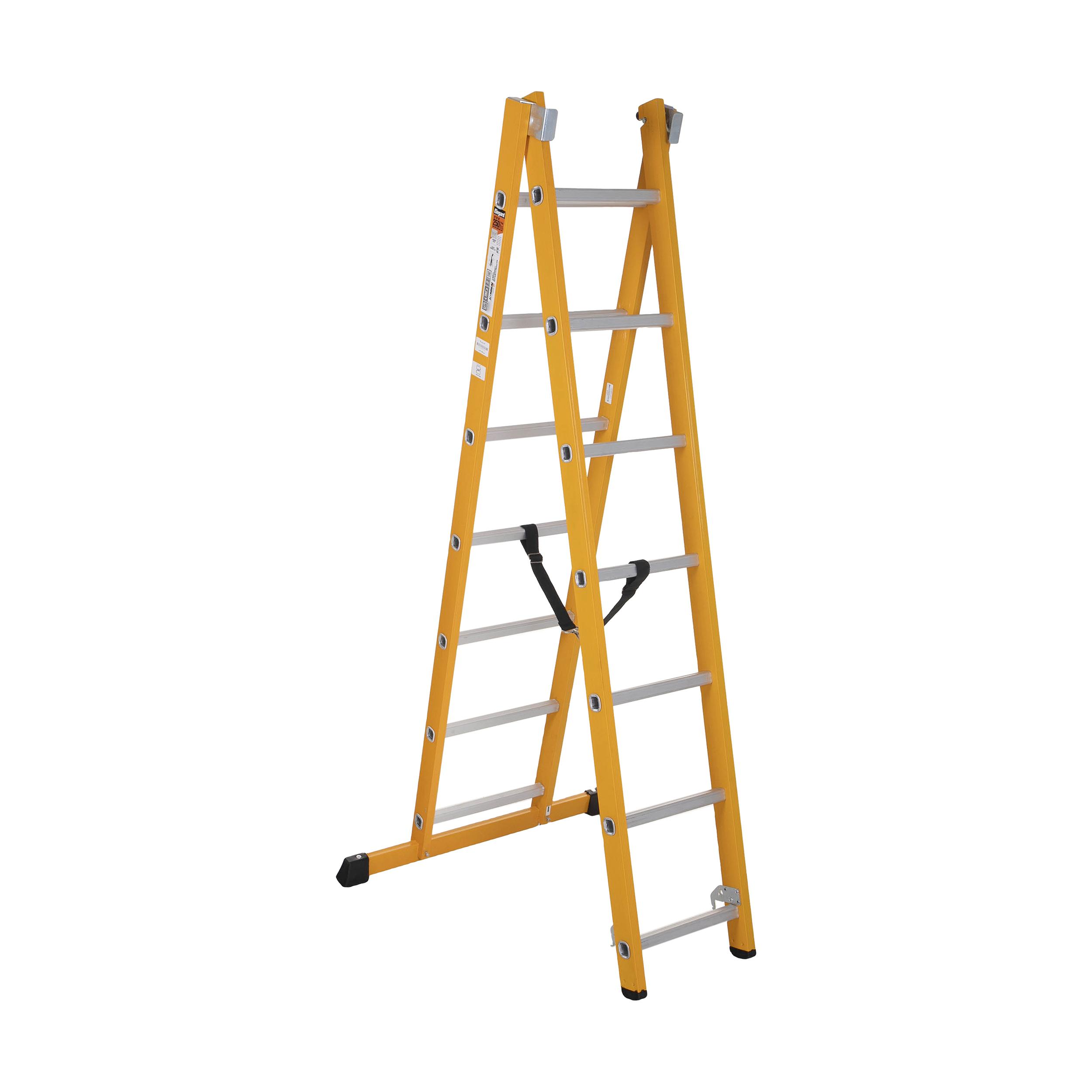 نردبان 14 پله آلوم پارس پله مدل الگانت 2
