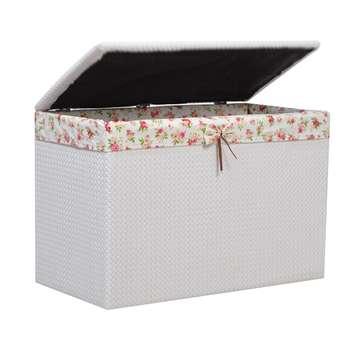 صندوق رخت چرک شایگان مدل چرم نشیمن