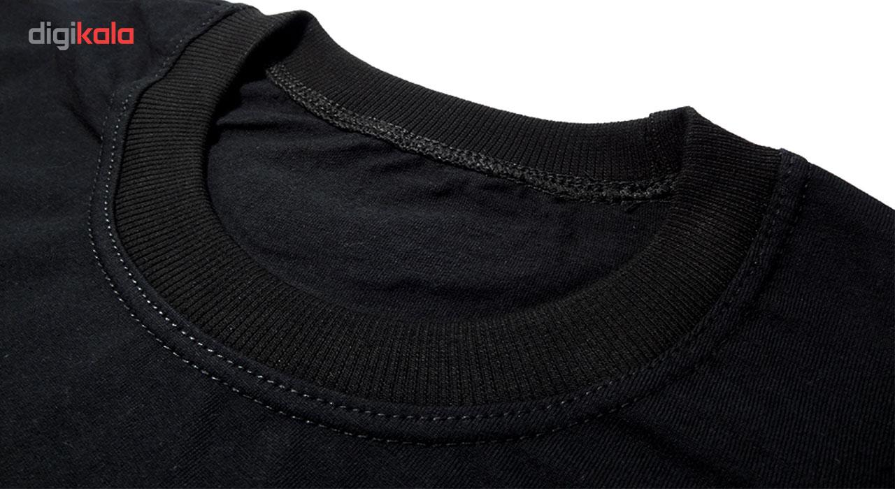 تیشرت آستین کوتاه مردانه بلک اند وایت فانتزی کد BW-A-6120