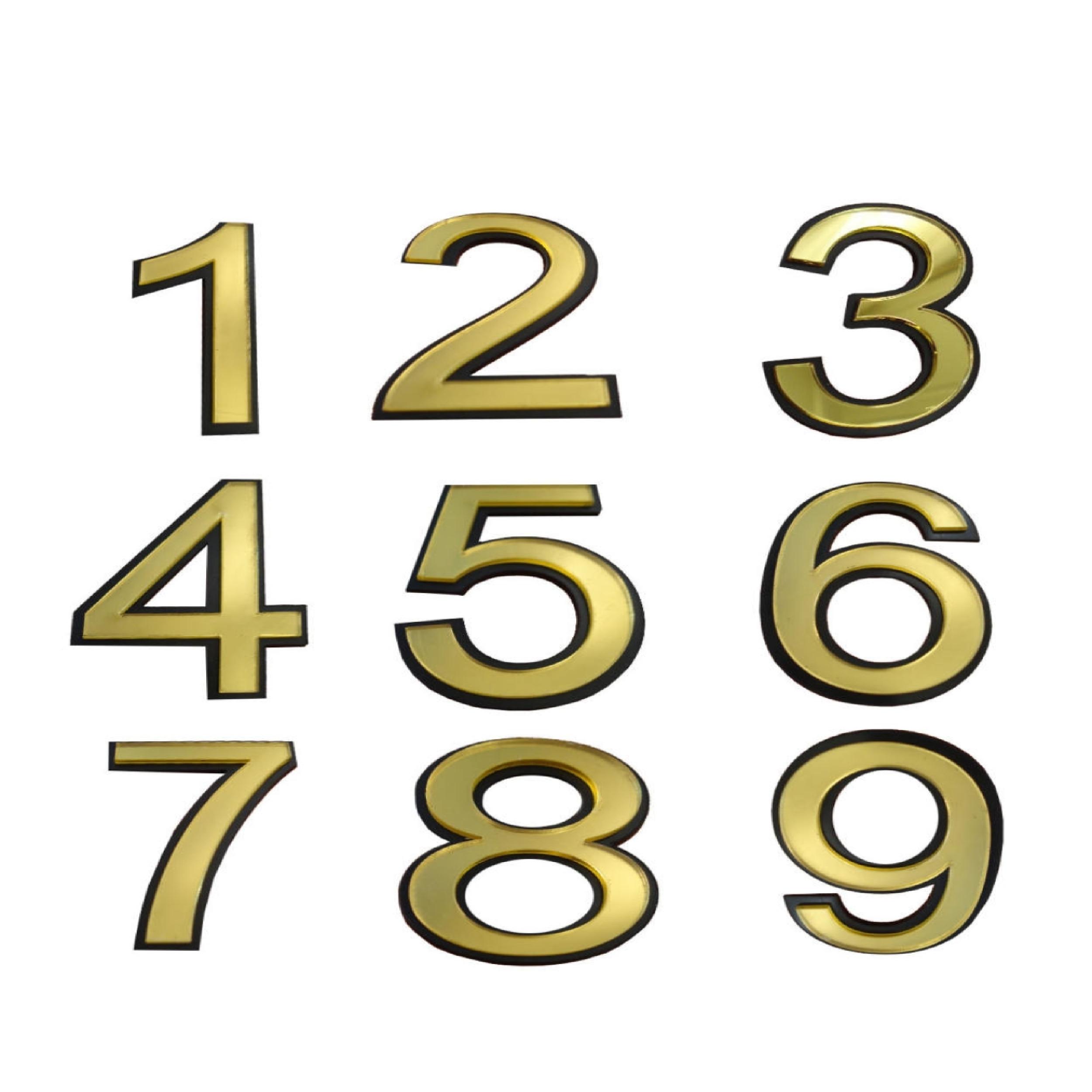 تابلو نشانگر  طرح شماره واحد مدل nu 9h مجموعه ۹ عددی