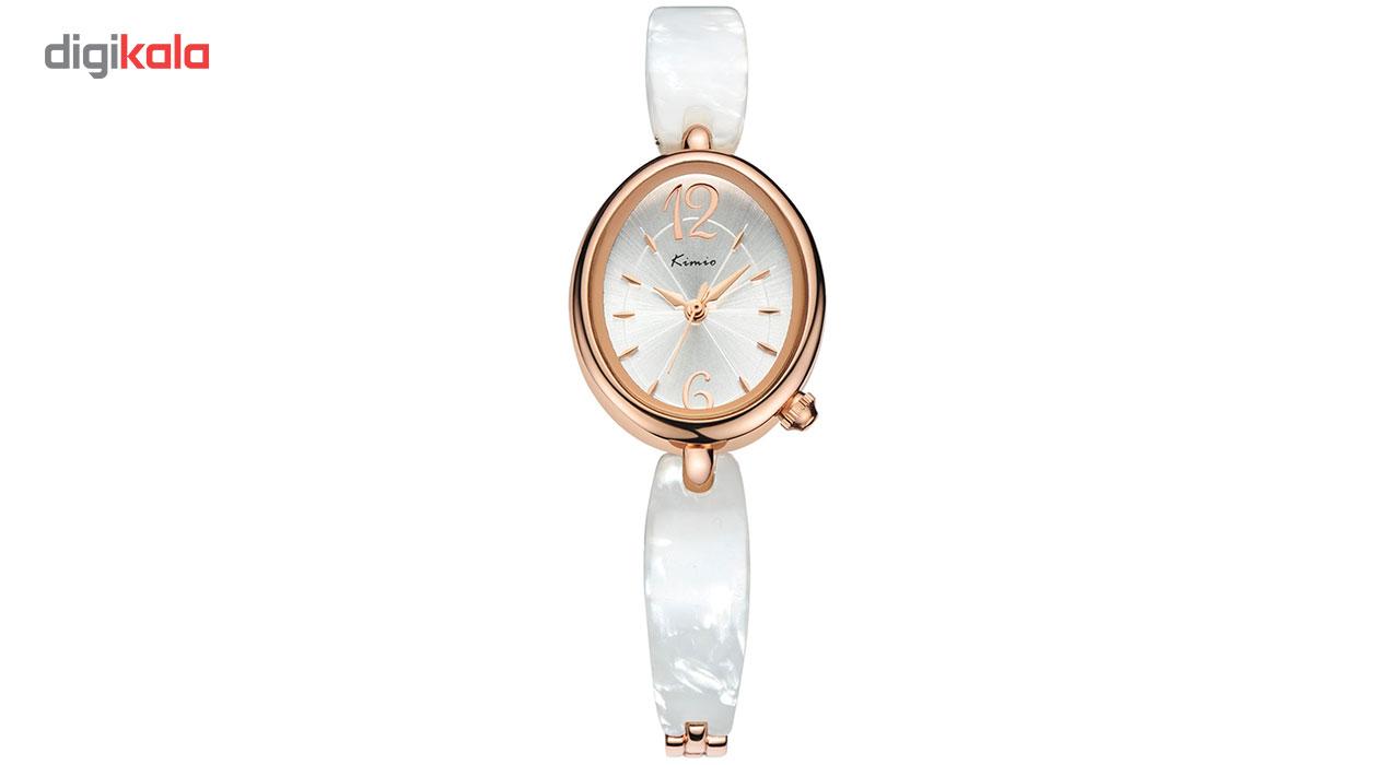 ساعت مچی عقربه ای زنانه کیمیو مدل KW6040S-RGY01