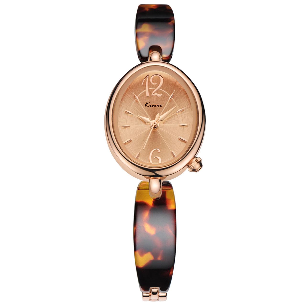 خرید ساعت مچی عقربهای زنانه کیمیو مدل KW6040S-RGC06
